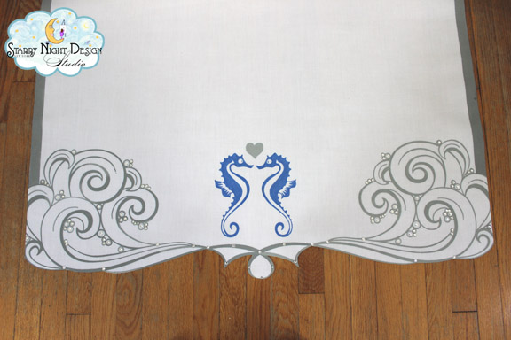 beach aisle runner