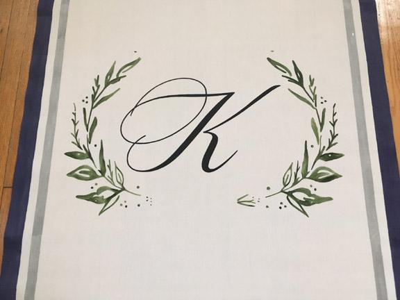 custom wedding aisle runner
