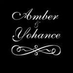 amber dobyne 155 on blk or 105 on white