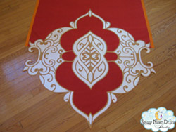 fancy end aisle runner 8