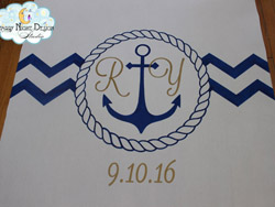 nautical aisle runner 1