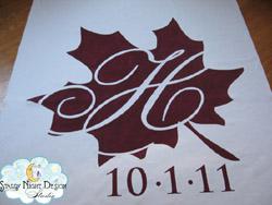 autumn aisle runner 1