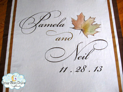 Fall aisle runner