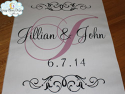 wedding aisle runners