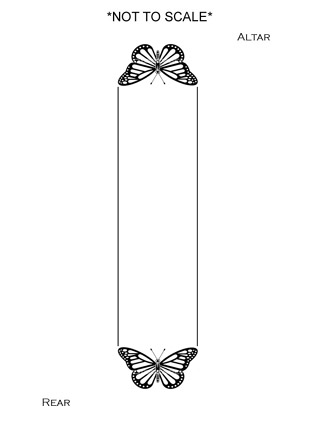 butterfly 100 each end