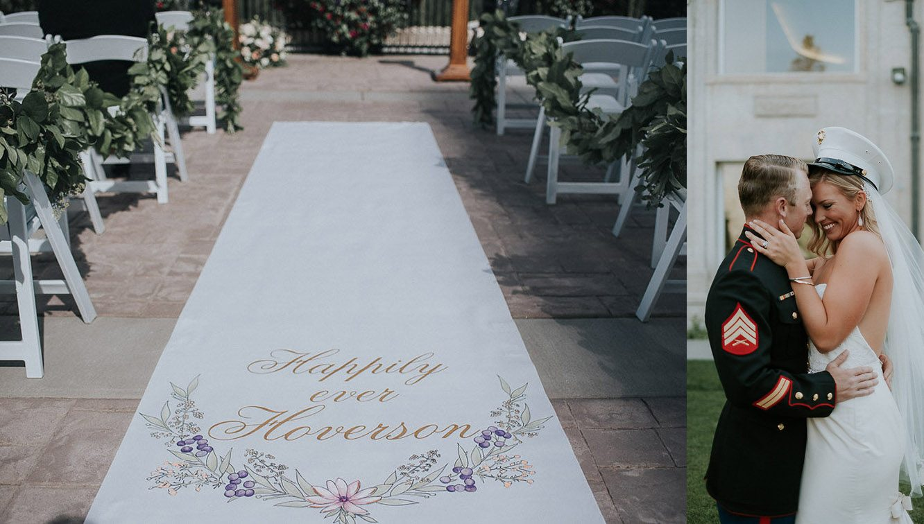 starry night design studio aisle runners